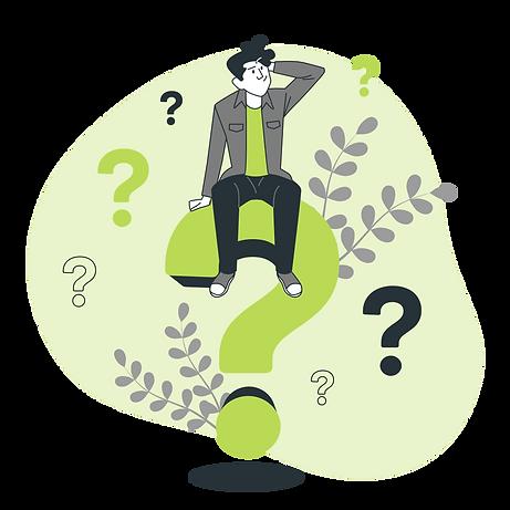 FAQ Questions fréquentes site web éphemere