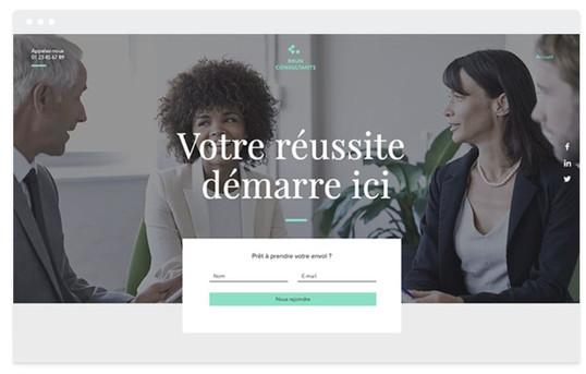 création site web apprentissage