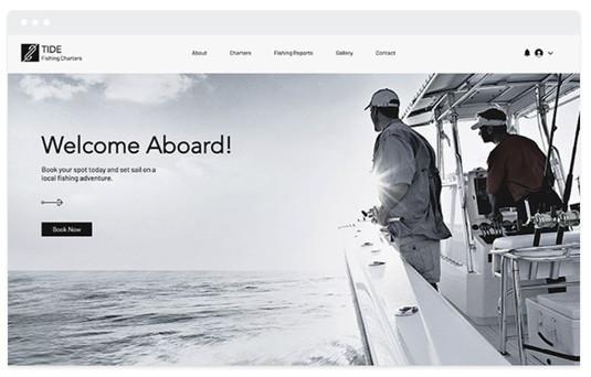 création site web tourisme en mer