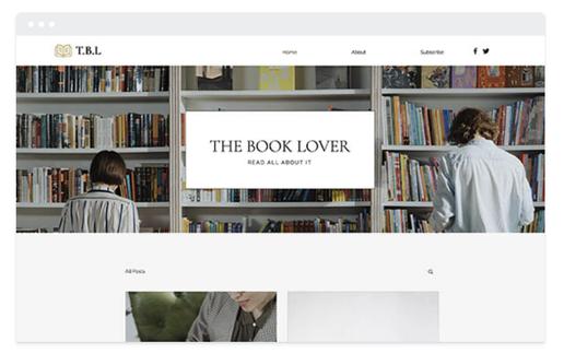 Site de présentation magasin