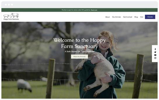 Création site web association paysanne