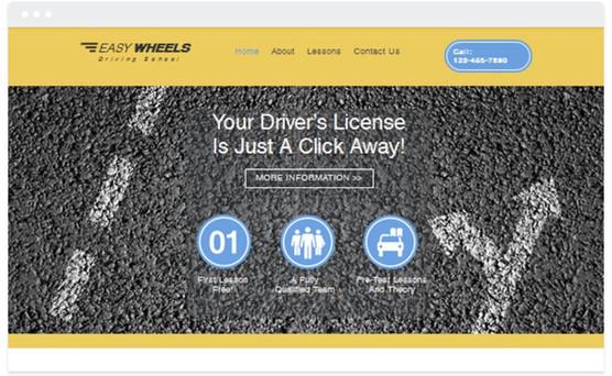 Création site web administration routiere