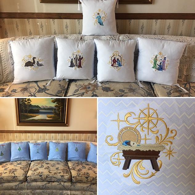 Nativity Pillows