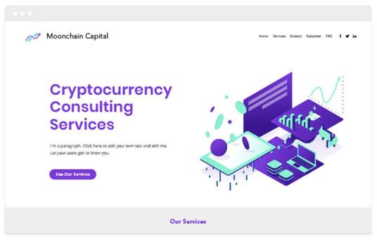 création site web startup