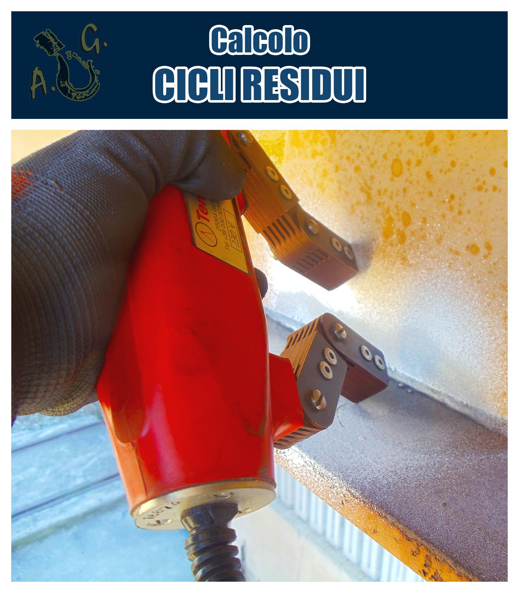 A.G.Service calcolo cicli residui