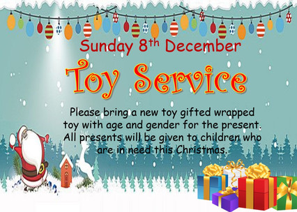 Toy Service 8th December 2019