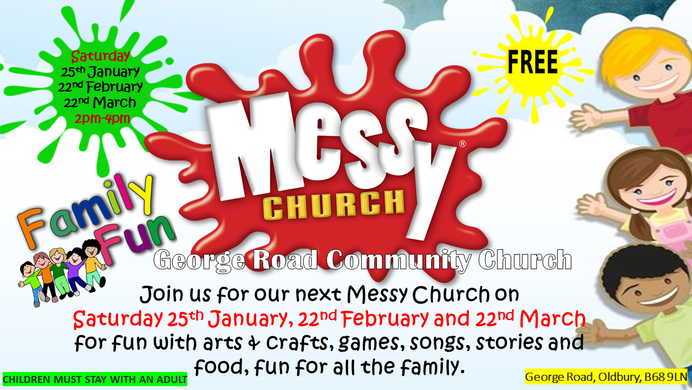 Messy Church 2020 dates