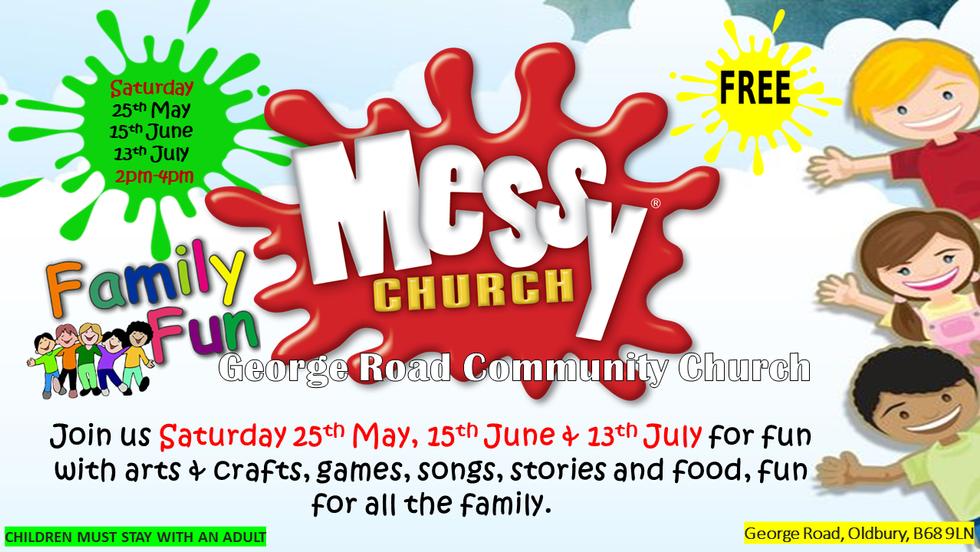 Messy Church May, June and July 2019