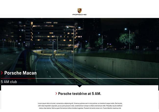 Porsche 5 AM club