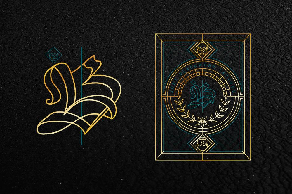 Tattoo artiest Logo & Huisstijl