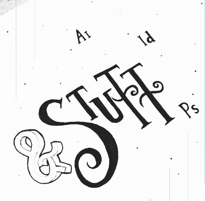 MRS ADS for Stuff, grafisch ontwerp