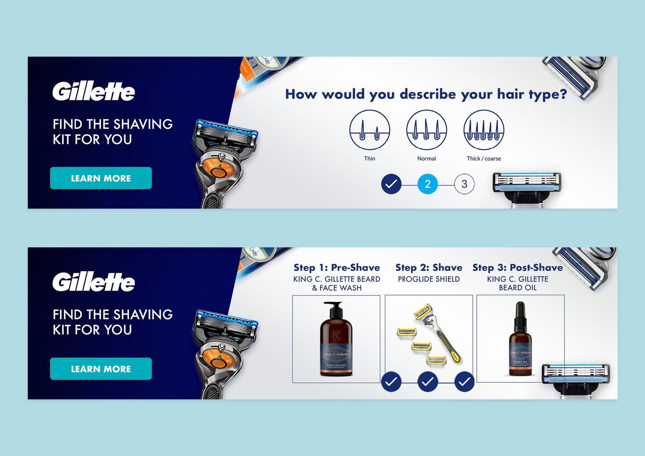 Gillette concept billboard