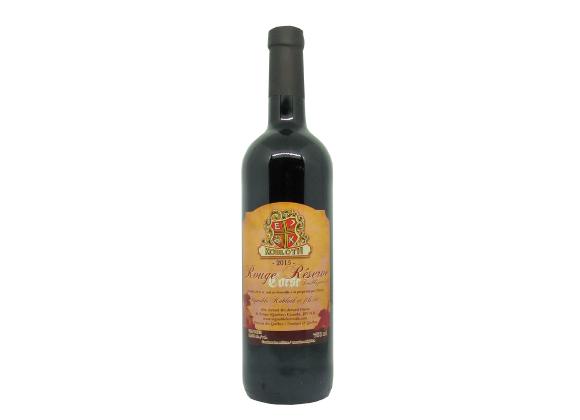 Vin rouge - Réserve Corsé