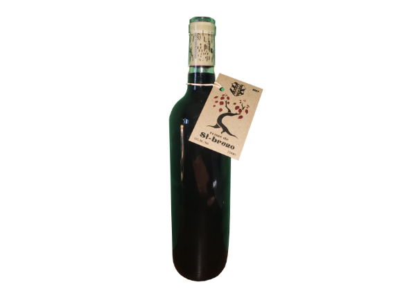 Vin rouge nature - Signé St-Bruno version nature