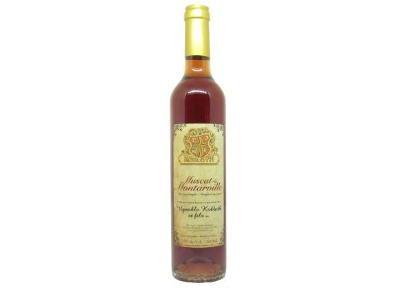 Rosé fortifié - Muscat de Montarville