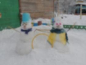 Два дружка-снеговичка для пролезания.JPG