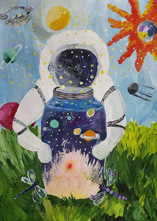 Рахимжонова Мубина Космическое исследова