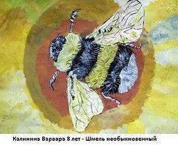 Калинина Варвара 8 лет - Шмель необыкнов