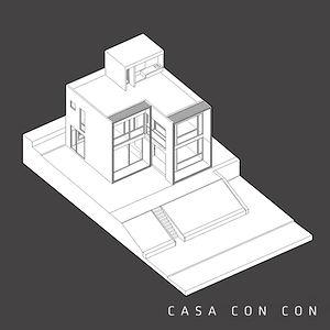 CASA CON CON LITORAL