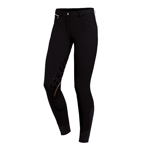 Full seat breeches CARINA GRIP- Black