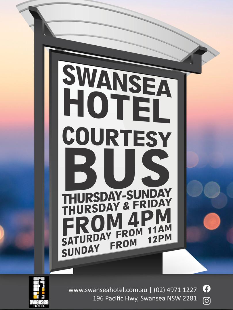 Swansea Hotel Courtesy Bus