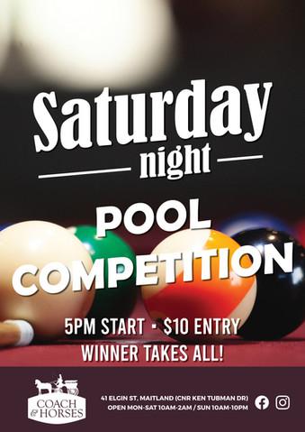 Saturday Night Pool Comp