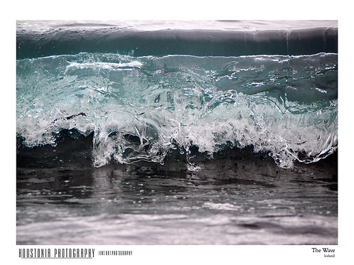 """The Wave, Iceland (7x10"""")"""