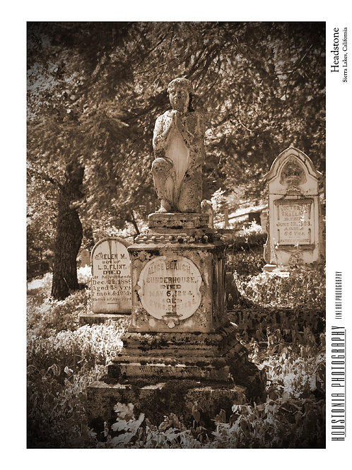 "Sierra Lakes Headstone (7x10"")"