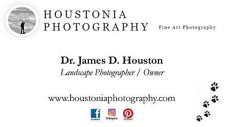 Houstonia Photography Business Card Imag