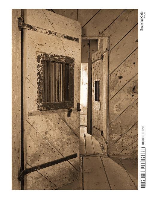 "Bodie Jail Cells (7x10"")"