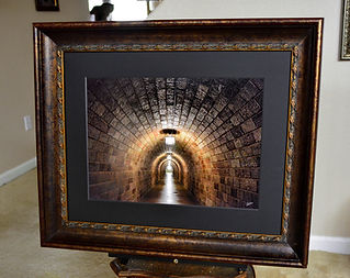 Light At The End Of The Tunnel Framed.jp