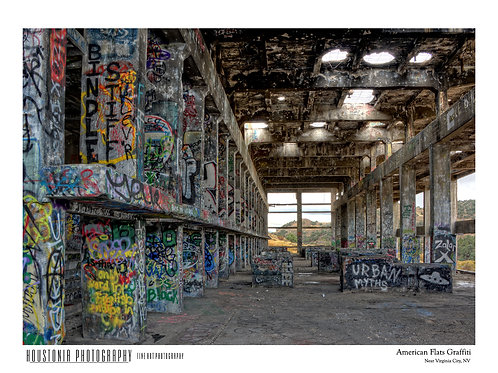 """American Flats Graffiti (7x10"""")"""