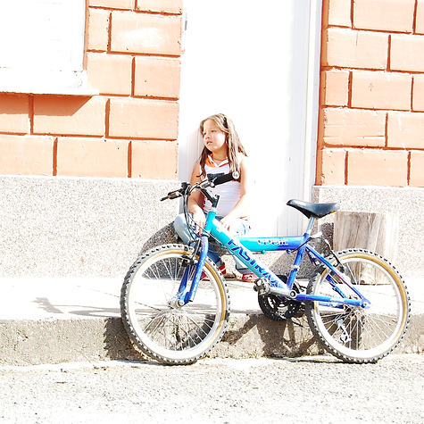 Girl & Bike