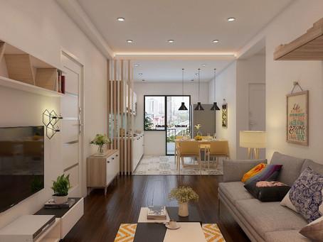4 Gợi ý thiết kế phòng khách chung cư nhỏ ấn tượng