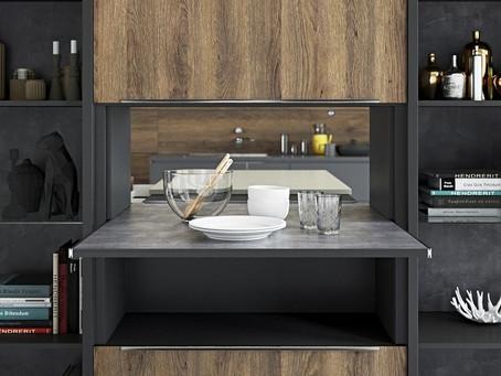 Cách sử dụng đồ nội thất để tối ưu không gian phòng bếp hiệu quả