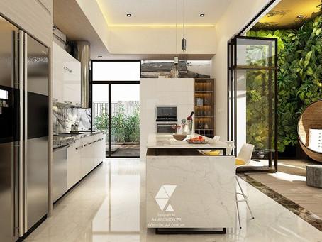 Dự án thiết kế không gian mở hiện đại tại công trình Nghi Tàm Villa