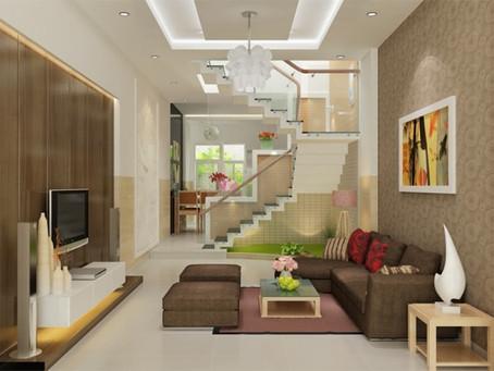 6 Lưu ý để sở hữu mẫu thiết kế phòng khách nhà ống đẹp