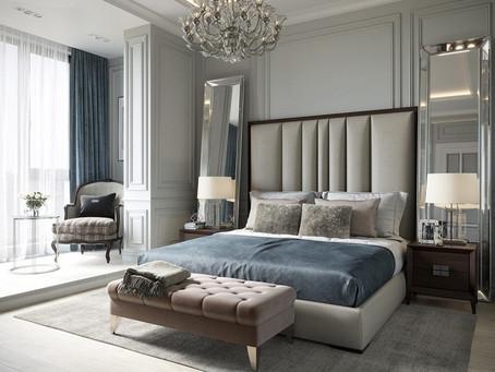 Lưu ý khi thiết kế phòng ngủ theo phong cách tân cổ điển