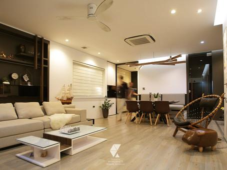 Khám phá sự độc đáo bên trong căn hộ của gia chủ Nguyễn Văn Huyên - Cầu Giấy
