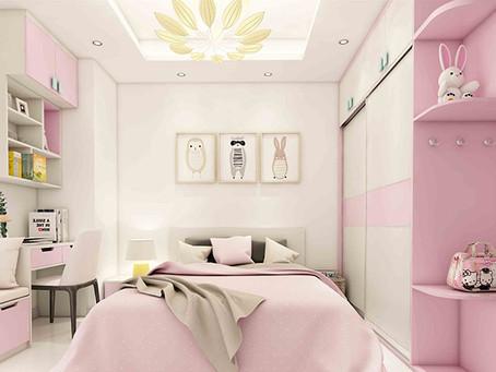 Những điều cần lưu ý khi thiết kế phòng ngủ cho bé gái