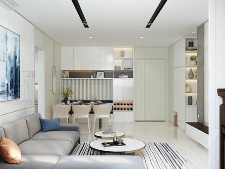 Dự án thiết kế căn hộ Mrs Vinh theo phong cách hiện đại, tiện nghi
