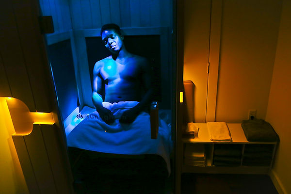 Relaxation in infrared sauna