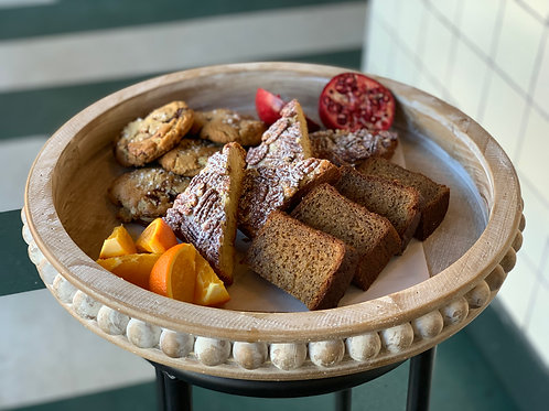 small pastry platter - serves 8-10