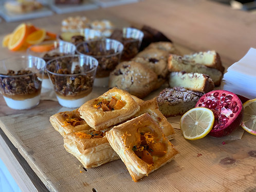 large pastry platter - serves 20-25