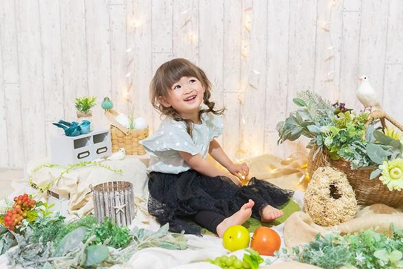 札幌写真館 レンタルセット かわいい おしゃれ ナチュラル 子供 おうち 撮影 宮の森 円山 中央区 誕生日 バースデー フォト 記念