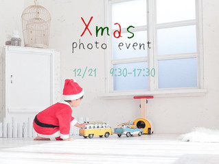 🎄Xmas photo event開催します🎅