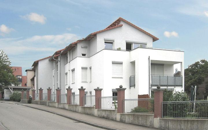Mehrfamilienhaus Neubau Heidenheim Wohnu