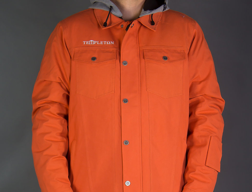 Hard Rock Jacket - orange