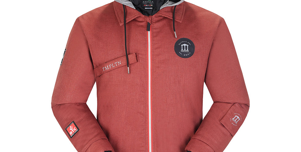 Workers Jacket - red