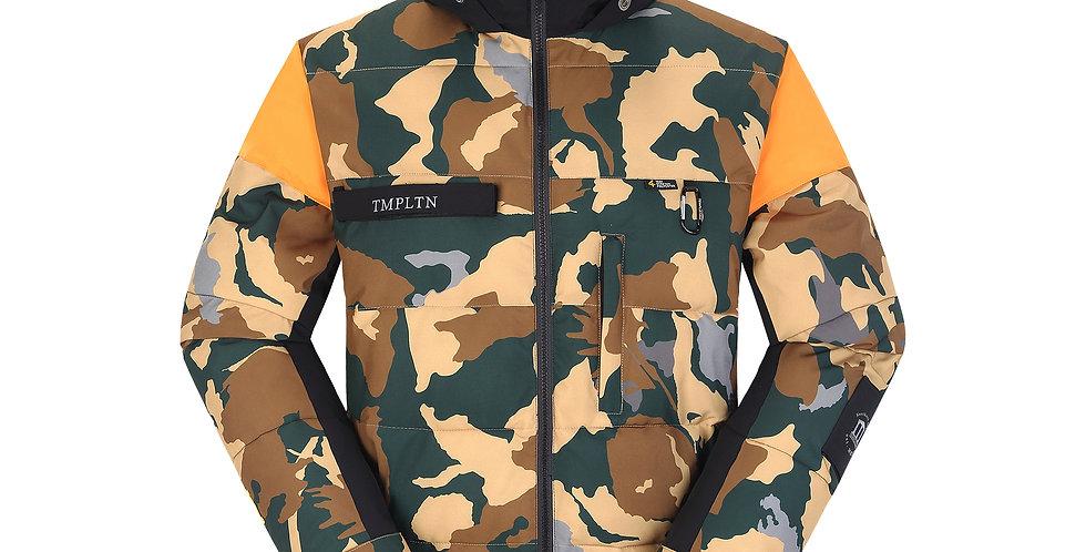 Puffy Jacket - camou